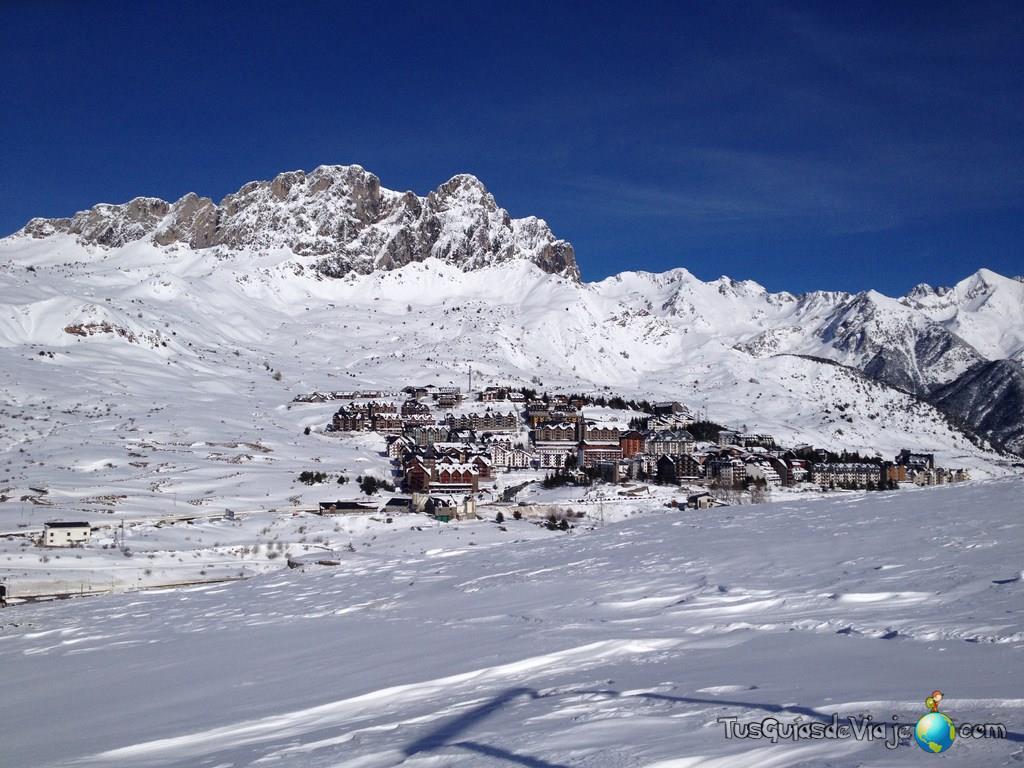 estación de esquí de formigal en el pirineo aragonés