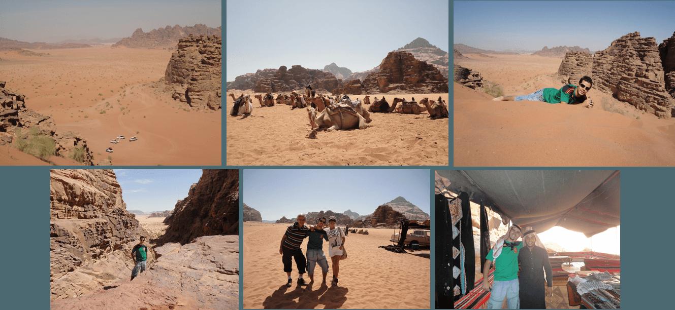 excursión por el desierto de wadi rum en 4x4