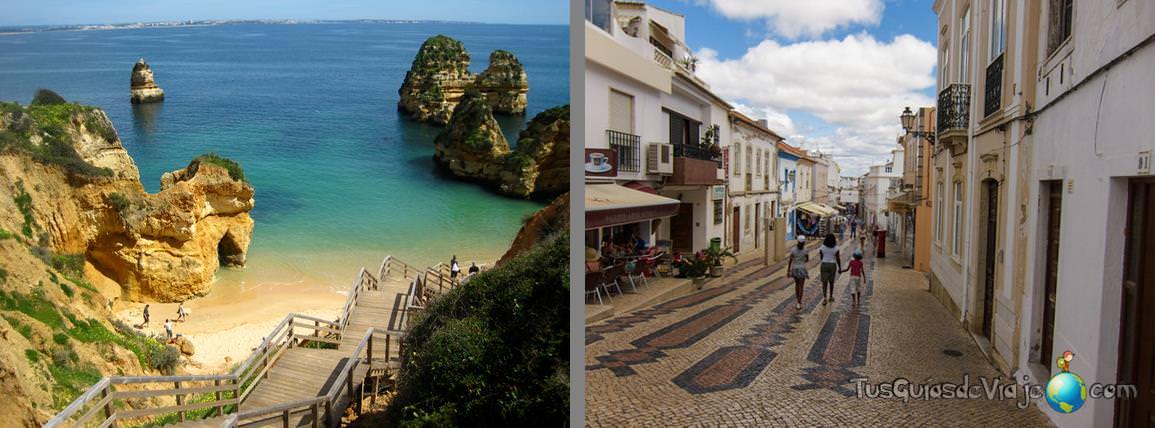 pueblos y playas del algarve