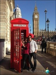 famosa cabina de teléfono de londres