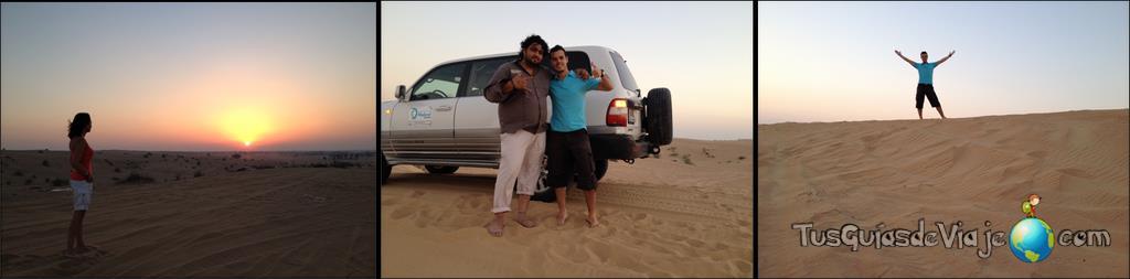 excursión en 4x4 al desierto de dubai