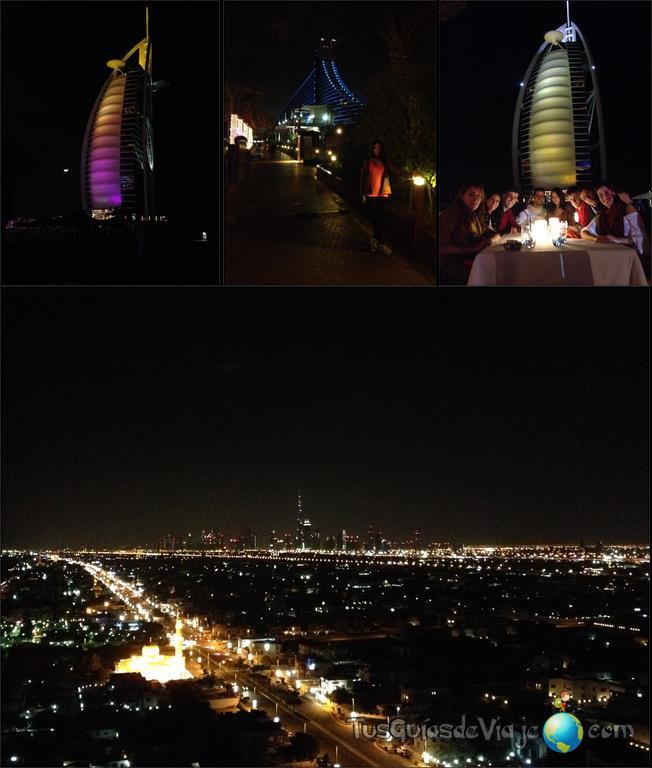 restaurante en Jumeirah beach hotel