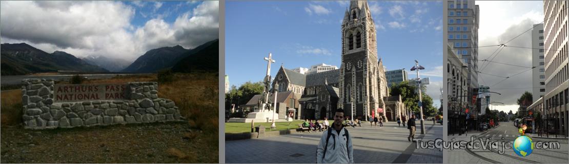 Ciudad más castigada por los terremotos en Nueva Zelanda