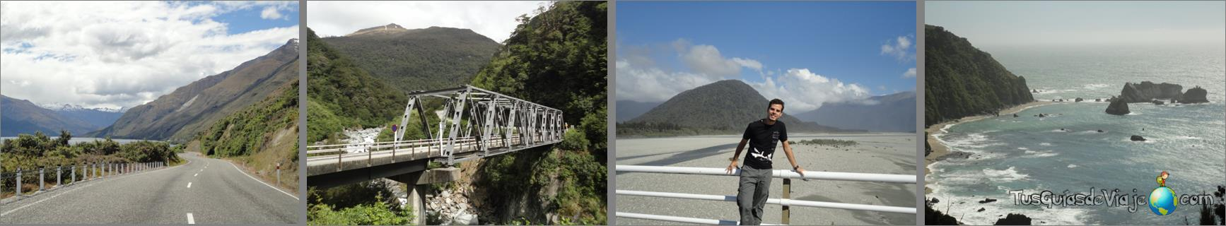 viajar por carretera en nueva zelanda