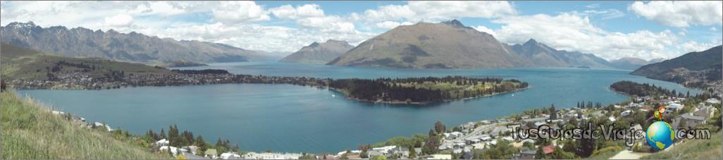 la ciudad de los deportes de aventura en Nueva Zelanda
