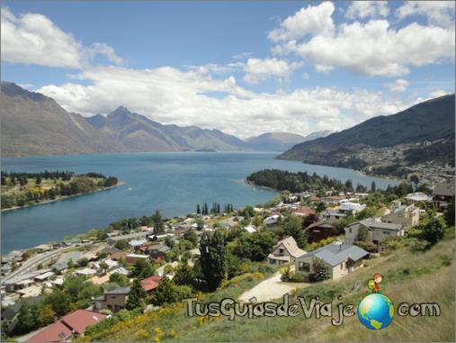 paraíso en la isla sur de Nueva Zelanda