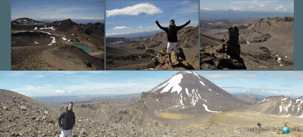 Ruta de volcanes en Nueva Zelanda