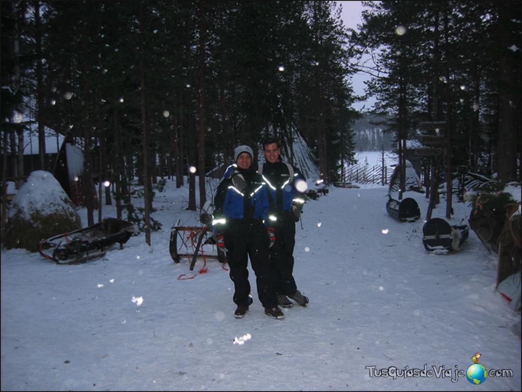 Visita a un poblado Sami en el Círculo Polar Ártico