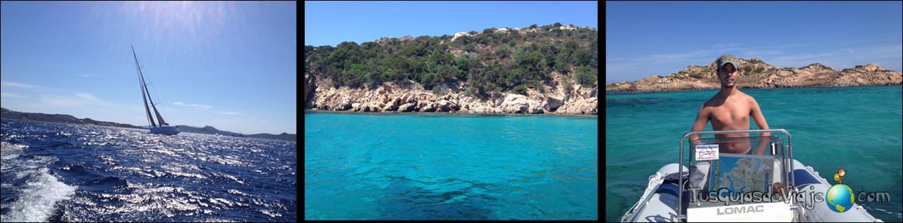 Archipiélago de la Madalena, precioso y aguas turquesas