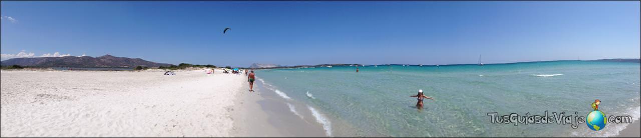 Increíble playa kilométrica en Cerdeña