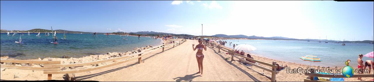 Una playa muy especial en palau