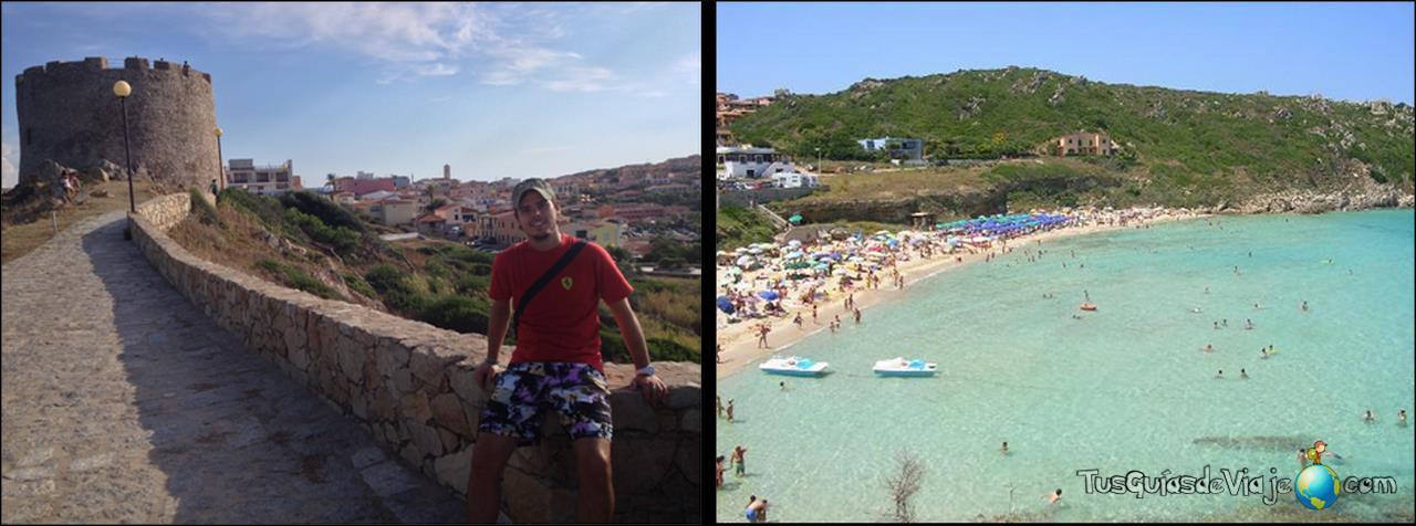 Importante pueblo del norte de Cerdeña con la playa Rena Bianca