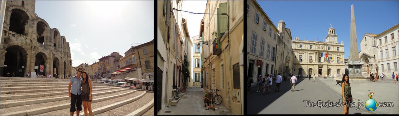 Famoso anfiteatro de Arles