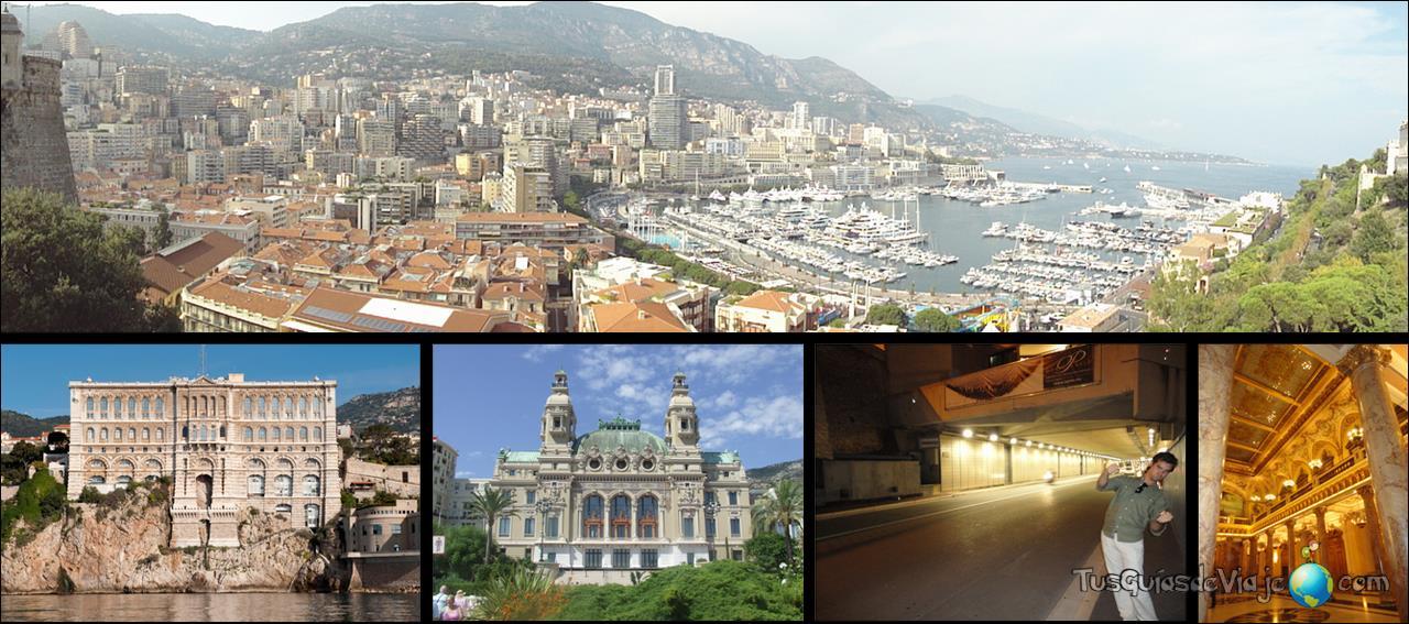 Ruta por el principado de Mónaco