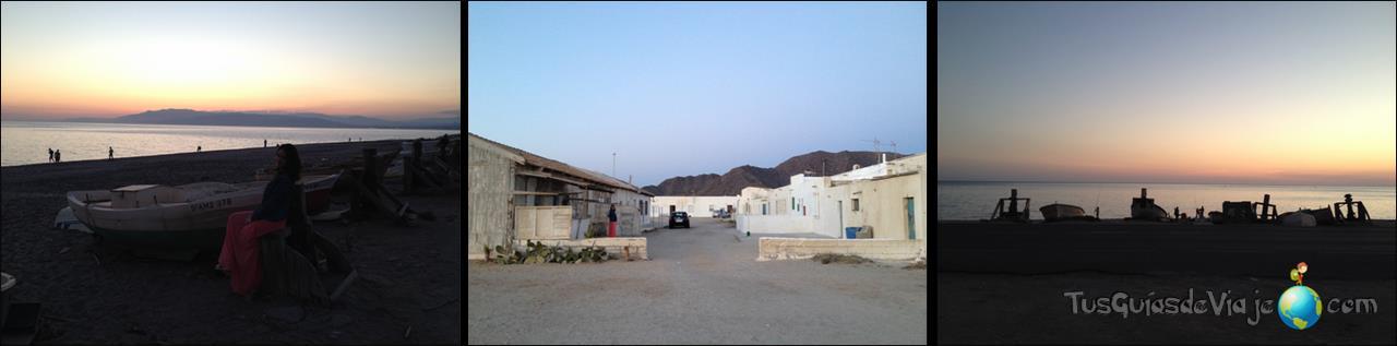 Bonito pueblo de pescadores en Cabo de Gata