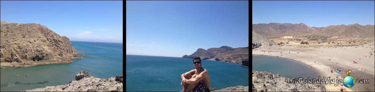 Preciosas vistas desde la playa del Monsul