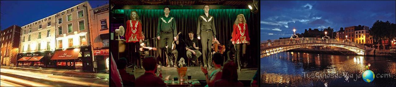 Espectáculo de danza irlandesa en el hotel Arlington