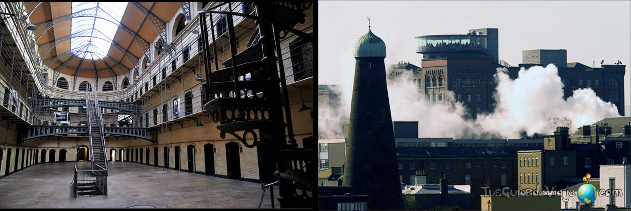 Inquietante visita a esta antigüa cárcel de Dublín