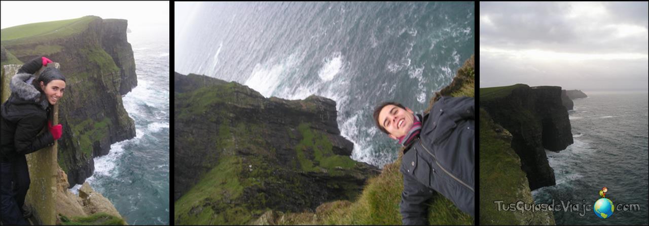 En Galway encontramos los fascinantes acantilados de Moher