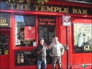 Famoso barrio de Dublín