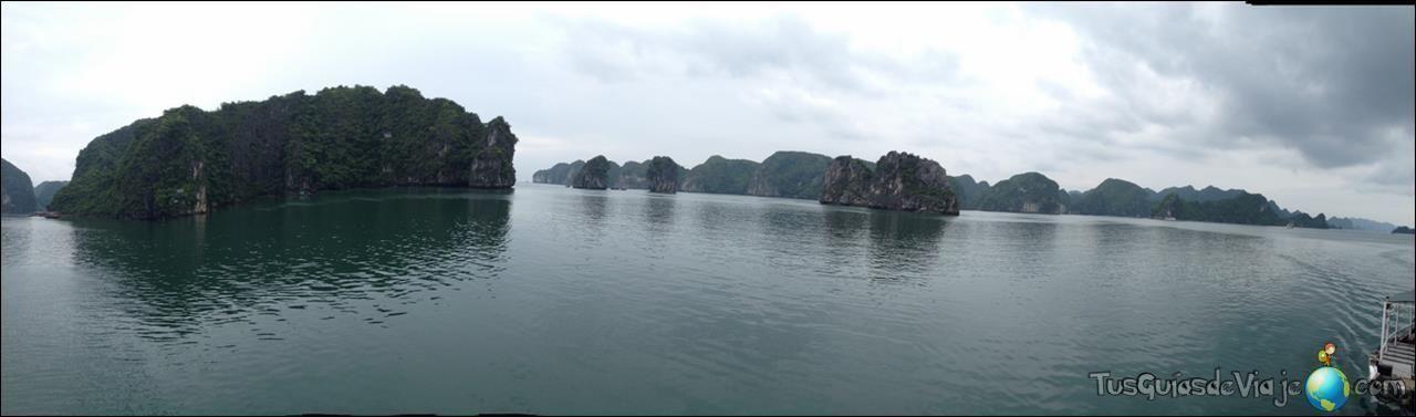 Impresionante la bahía de Halong