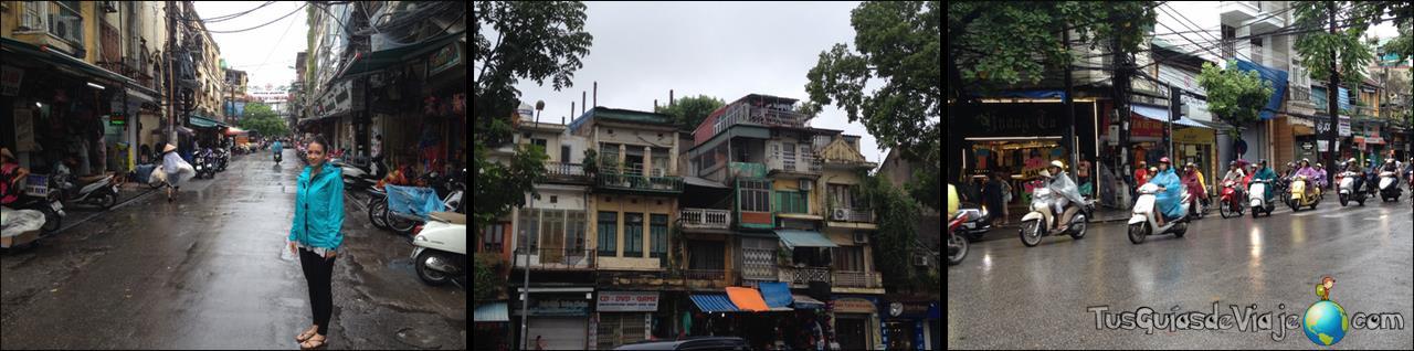Visitando la caótica Hanoi