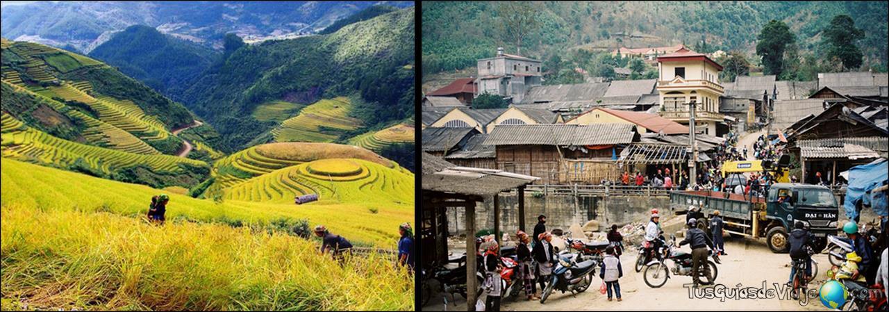 Preciosa ruta por la región de Sapa en Vietnam