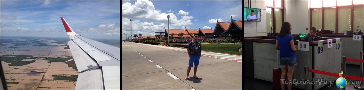 Aeropuerto de Siem Reap en Camboya
