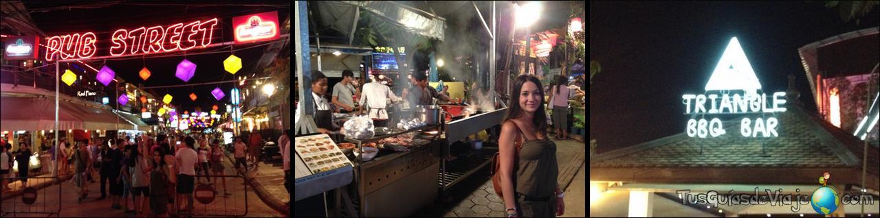 Vida nocturna en Siem Reap