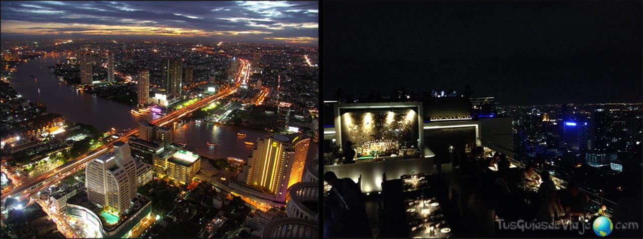 miradores increíbles en Bangkok