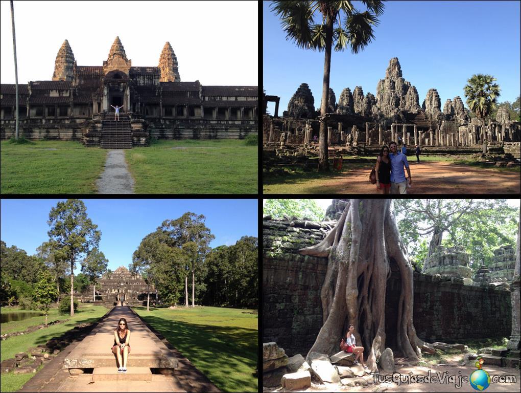 Templos en Angkor Wat, Camboya