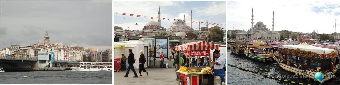 El puente más famoso de Estambul