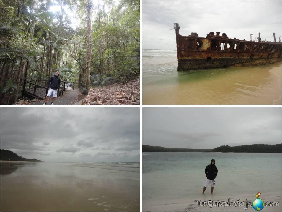 Recorriendo Fraser Island