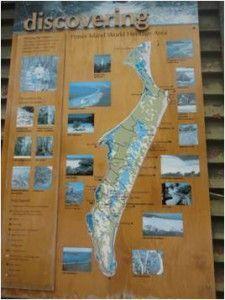 El mapa para no perderte nada en Fraser Island
