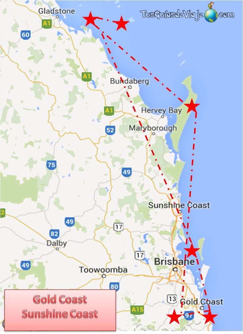 Ruta por la Costa Este de Australia