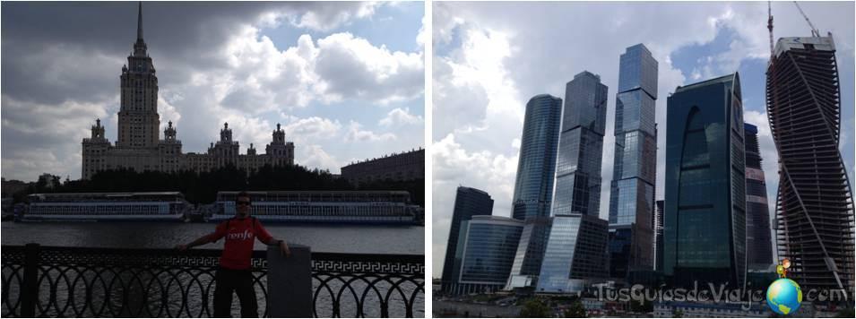 Moscú-rascacielos-moscow city